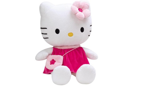 peluche hello kitty