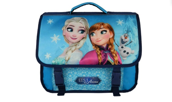 cartable de la reine des neiges