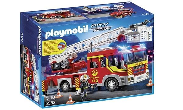 camion de pompier playmobil