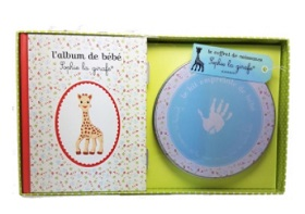 Coffret empreintes Sophie la Girafe