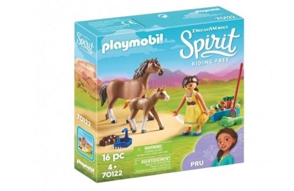 Apo avec cheval et poulain - Playmobil 70122