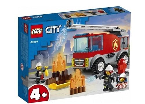 Camion de pompiers avec échelle lego city