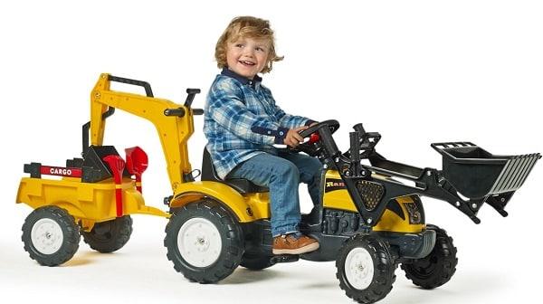 tracteur falk à pédales
