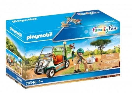 Vétérinaire avec son véhicule - Playmobil Family Fun