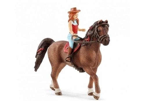 Figurine Hannah & Cayenne - Horse Club de Schleich