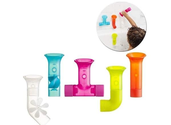 jouet de bain avec des tubes