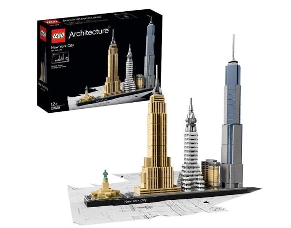 buildings new yorkais de lego architecture