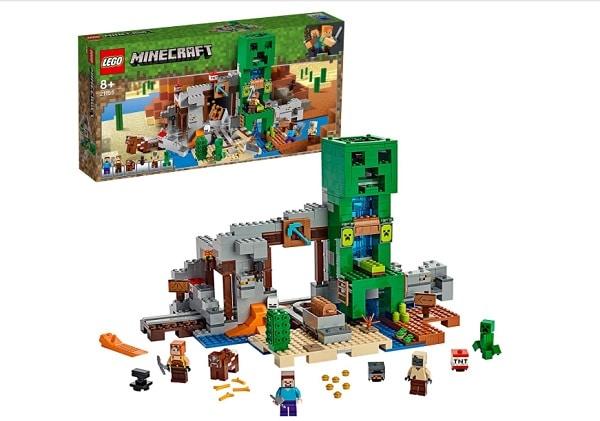jeu de lego avec personnages minecraft