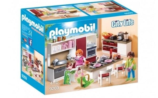 Cuisine aménagée - Playmobil City Life 9269
