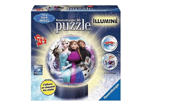 puzzle reine des neiges 3d